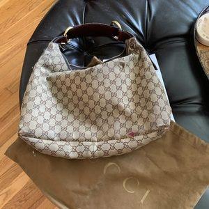 Gucci Brown Hobo bag medium
